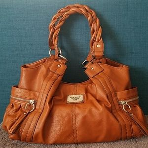 Relic brand satchel handbag vegan leather